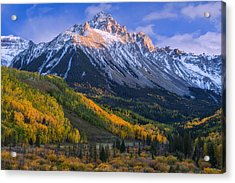 Beautiful Fall Evening Acrylic Print