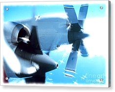 Acrylic Print featuring the photograph Beautiful Fixed Wing Aircraft by R Muirhead Art