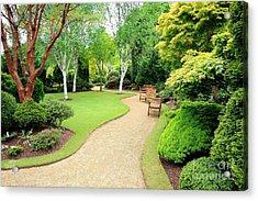 Beautiful Garden Acrylic Print by Boon Mee