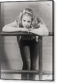 Beautiful Girl Acrylic Print