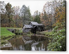 Beautiful Historical Mabry Mill Acrylic Print