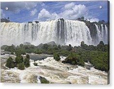 Beautiful Iguazu Waterfalls  Acrylic Print