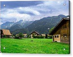 Beautiful Interlaken  Acrylic Print