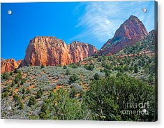 Beautiful Kolob Canyon Acrylic Print by Robert Bales