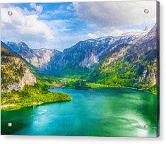 Beautiful Lake View Acrylic Print