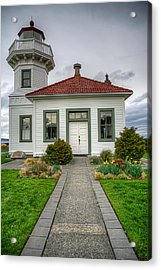Beautiful Lighthouse Acrylic Print by Spencer McDonald