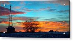 Beautiful Mornin' Panorama Acrylic Print