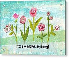 Beautiful Morning Acrylic Print by Carla Parris