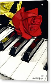 Beautiful Music Acrylic Print