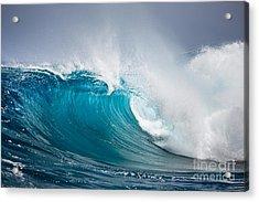 Beautiful Ocean Wave Acrylic Print by Boon Mee