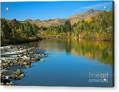 Beautiful Payette River Acrylic Print by Robert Bales