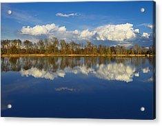 Beautiful Reflection Acrylic Print by Ivan Slosar