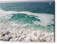 Beautiful Sea Salt Acrylic Print by Boon Mee
