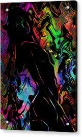 Beautiful Shadow Acrylic Print by Steve K