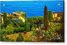 Beautiful Sicily Acrylic Print by Madeline Ellis