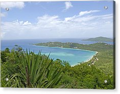 Beautiful St Thomas Acrylic Print by Willie Harper