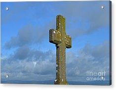 Beautiful Stone Cross In Ireland Acrylic Print