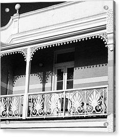 Beautiful Balcony Acrylic Print