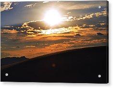 Beautiful Sun Set Acrylic Print by Danyele Skeels