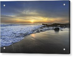 Beautiful Sunrise Acrylic Print by Debra and Dave Vanderlaan