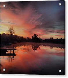 Beautiful Sunrise #jj_louisiana Acrylic Print