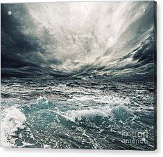 Beautiful Thunderstorm Acrylic Print by Boon Mee