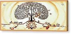 Beautiful Tree Of Life Acrylic Print