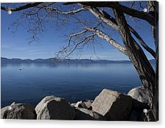Beautiful View Of Lake Tahoe Acrylic Print