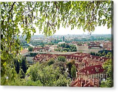 Beautiful View Of Prague Acrylic Print by Ivy Ho