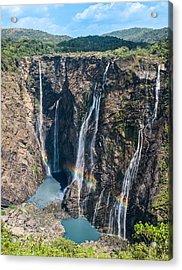 Beautiful Waterfalls In India Acrylic Print