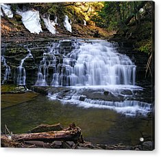 Beautiful Waterfalls Acrylic Print by Sheila Savage