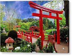 Beautiful Zen Garden Acrylic Print