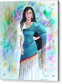 Beautiful Zoli Acrylic Print