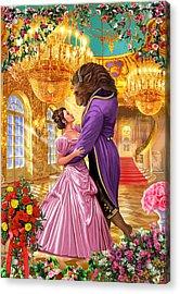 Beauty And The Beast Acrylic Print by Steve Crisp