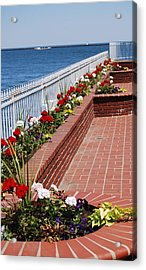 Acrylic Print featuring the photograph Beauty By The Lake by Ramona Whiteaker
