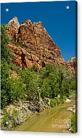 Acrylic Print featuring the photograph Beauty Canyon by Boon Mee