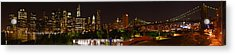 Beauty From Brooklyn Bridge Park Acrylic Print