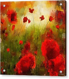 Beauty In Bloom Acrylic Print by Lourry Legarde
