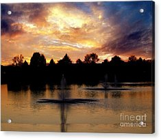 Beauty In Threes Acrylic Print by Scott B Bennett