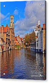 Beauty Of Belgium Acrylic Print