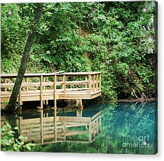 Acrylic Print featuring the photograph Beauty Of Blue Spring by Julie Clements