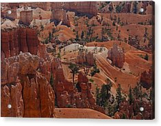 Beauty Of Bryce Acrylic Print by Kimberly Oegerle