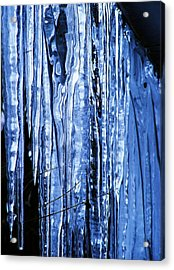Beauty Of Ice Acrylic Print