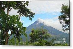 Beauty Of Mayon Acrylic Print by Manuel Cadag