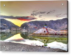 Beauty Of Nature Acrylic Print by Muhammad Zahid