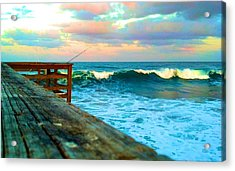Beauty Of The Pier Acrylic Print