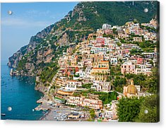 Beauty Of The Positano Acrylic Print