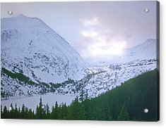 Beauty Of The Rockies Acrylic Print by Kellice Swaggerty