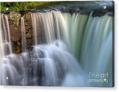 Beauty Of Water Acrylic Print by Bob Christopher
