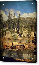 Beauty You Find Along The Way Acrylic Print by Laurie Search